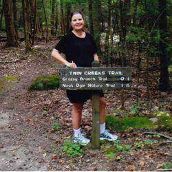 Lin at Twin Creeks Trail